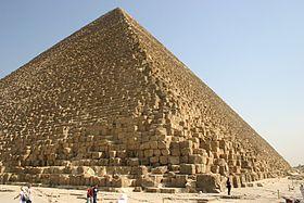 Pyramide de Khéops (Gizeh, Egypte)